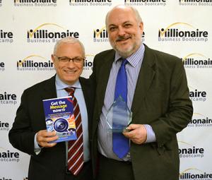 John Keedwell winning award